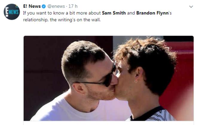 """Sam Smith si è fidanzato con un attore di """"13 Reasons Why"""""""