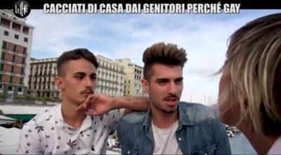 Francesco e Giuseppe, coppia gay