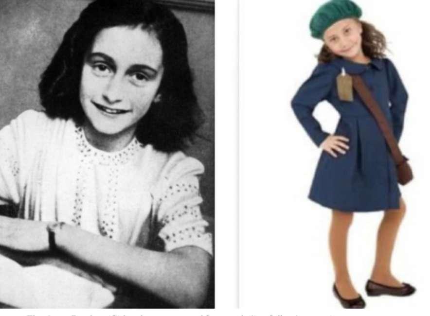 Halloween, è polemica per la vendita del costume di Anna Frank