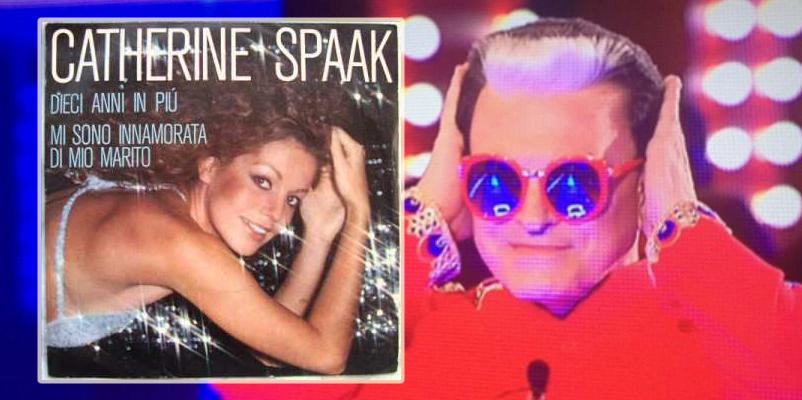 cristiano-malgioglio-Catherine Spaak