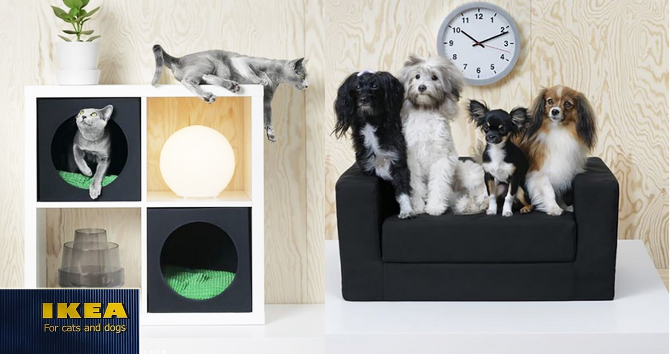 Mobili Per Gatti Ikea : Ikea lancia una linea di mobili dedicata agli animali impossibile
