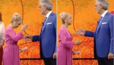 Luciana Littizzetto protagonista di una clamorosa gaffe con Andrea Bocelli (VIDEO)