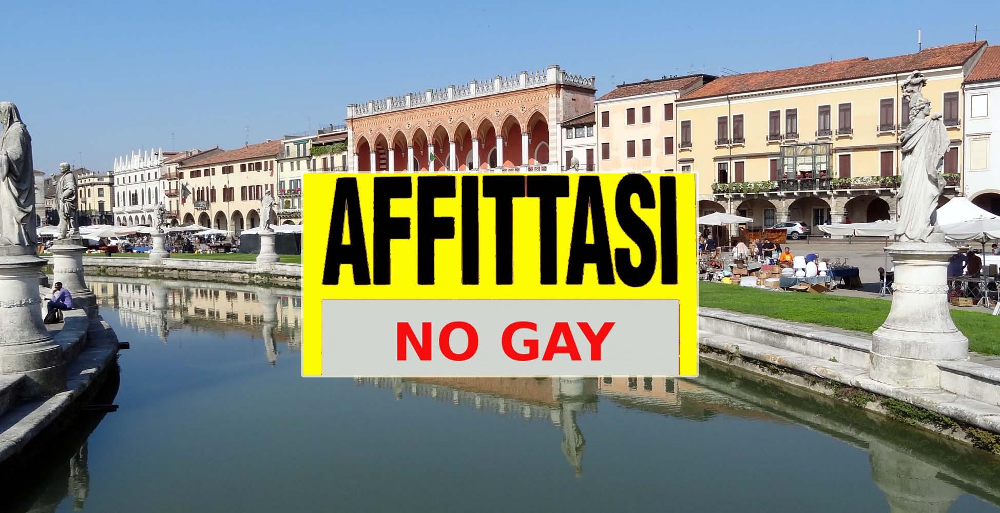 Padova, affitto, no gay, omofobia