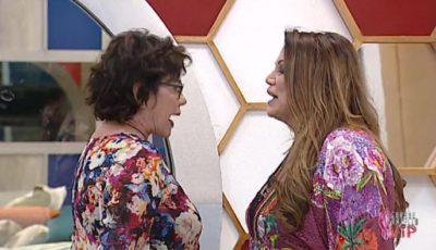 Corinne Clery e Serena Grandi