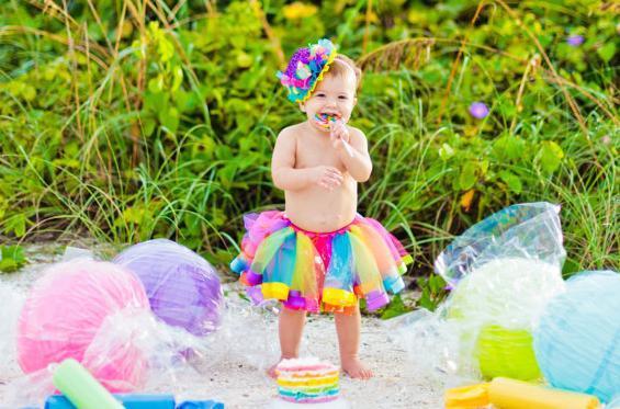 bambini, rainbow