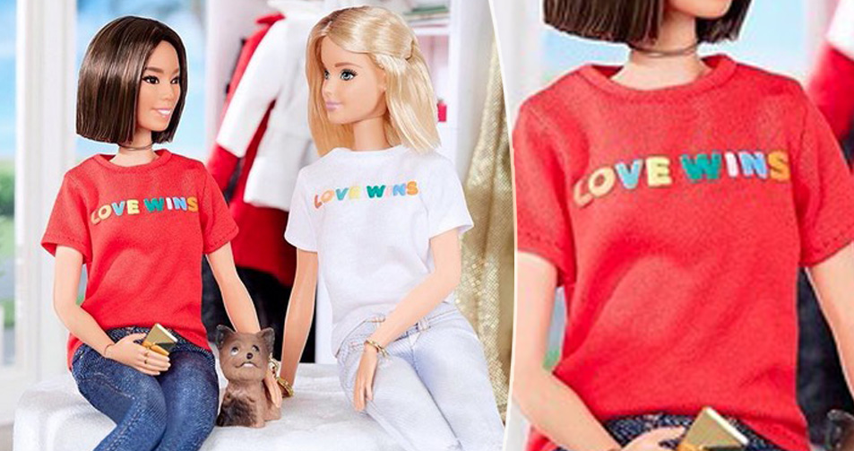 love wins, barbie