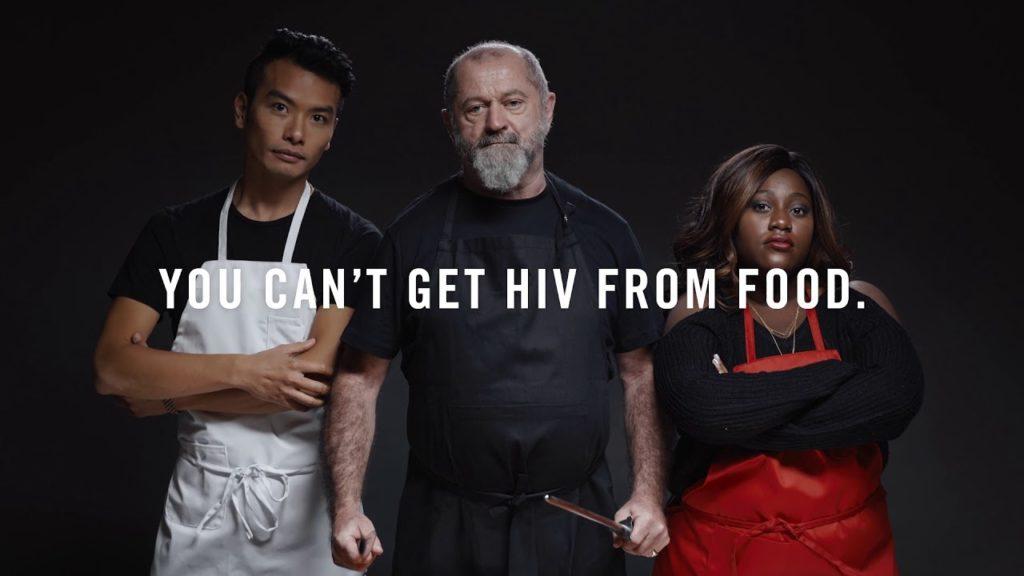 hiv, ristorante