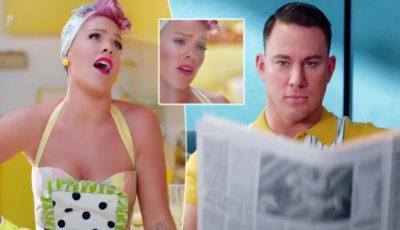 Channing Tatum nel nuovo video di Pink