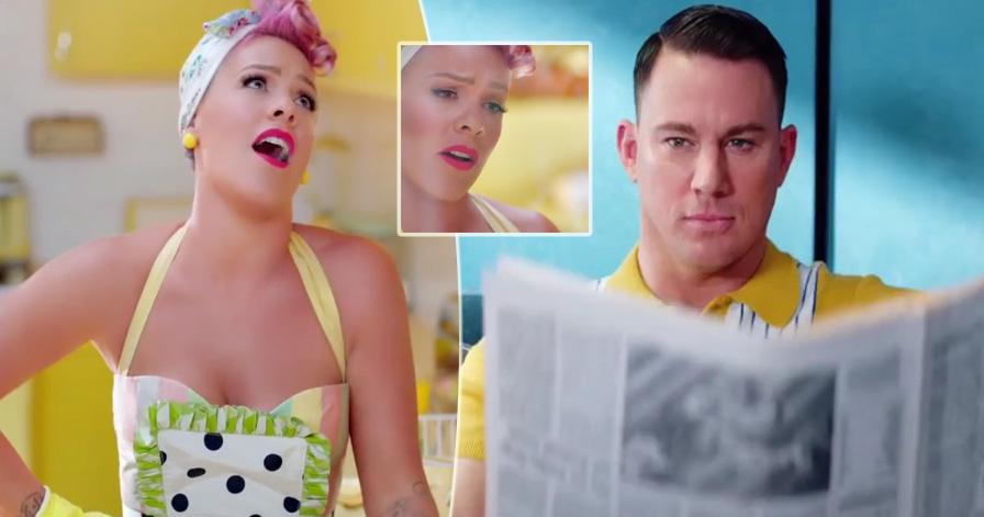 "Channing Tatum nel nuovo video di Pink ""Beautiful Trauma"" (VIDEO)"