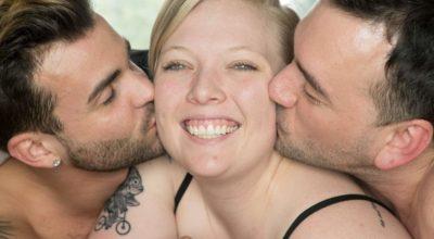 Coppia gay si fidanza con una donna: