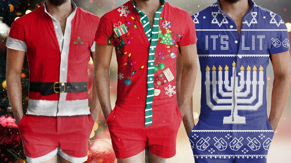 """Natale: arrivano le tutine """"sexy"""" per lui"""