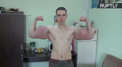 Kirill Tereshin, braccio di ferro