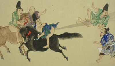 Le battaglie di scoregge nell'antico Giappone