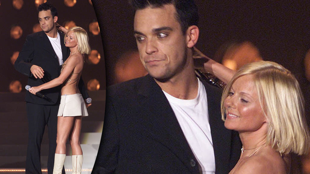 Robbie Williams e Geri Halliwell