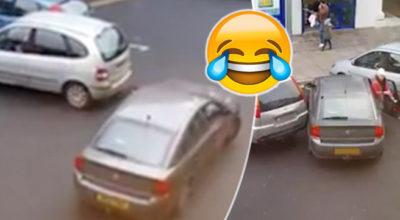 parcheggio donna
