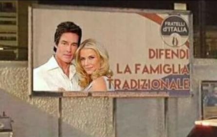 fratelli d'italia, famiglia tradizionale, parodie, meloni
