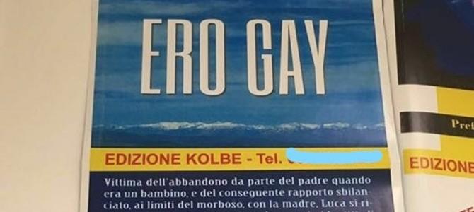 manifesto omofobo, savona