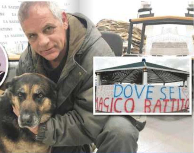 """Padre tappezza Livorno di striscioni: """"ditemi chi ha il cuore di mio figlio"""""""