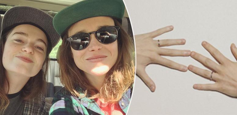 Ellen Page ha sposato la compagna Emma Portner