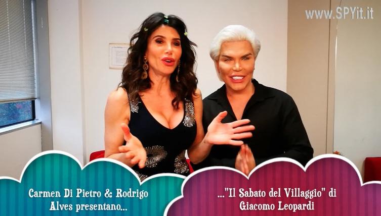 """Carmen Di Pietro e Rodrigo Alves in """"Il Sabato del Villaggio"""" di Leopardi"""