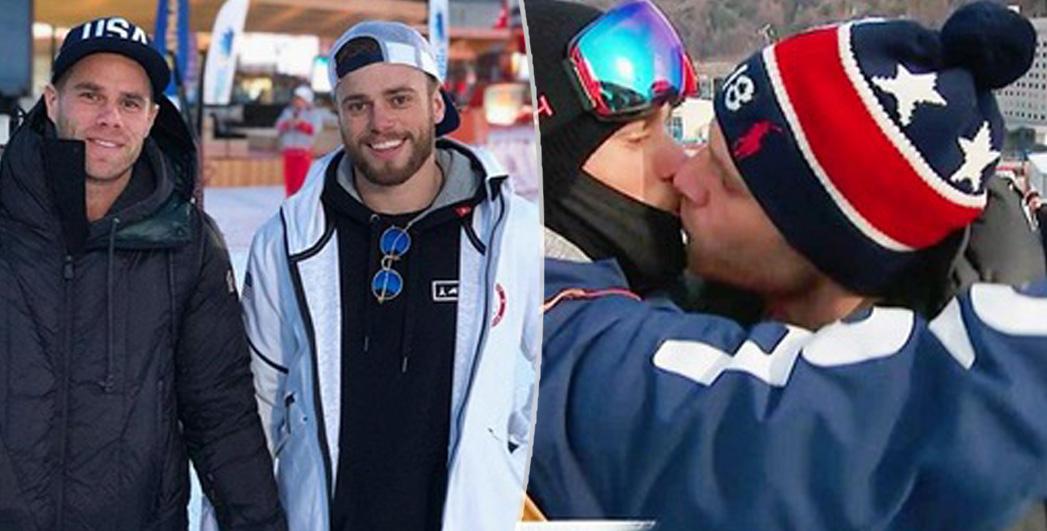 Olimpiadi invernali: il bacio (in diretta tv) di Gus e Matt