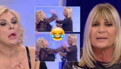 """Rissa in tv tra Tina Cipollari e Gemma: """"hai rotto il c***o, ti strozzo"""" (VIDEO)"""