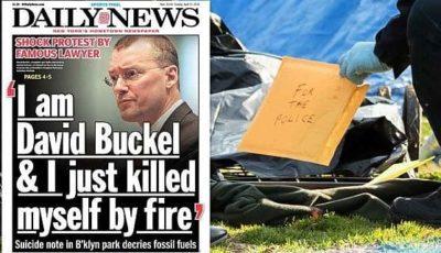 New York: avvocato dei diritti gay si dà fuoco e si toglie la vita nel Prospect Park di Brooklyn