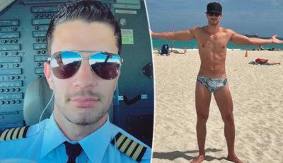 Isai Ortiz, pilota aereo