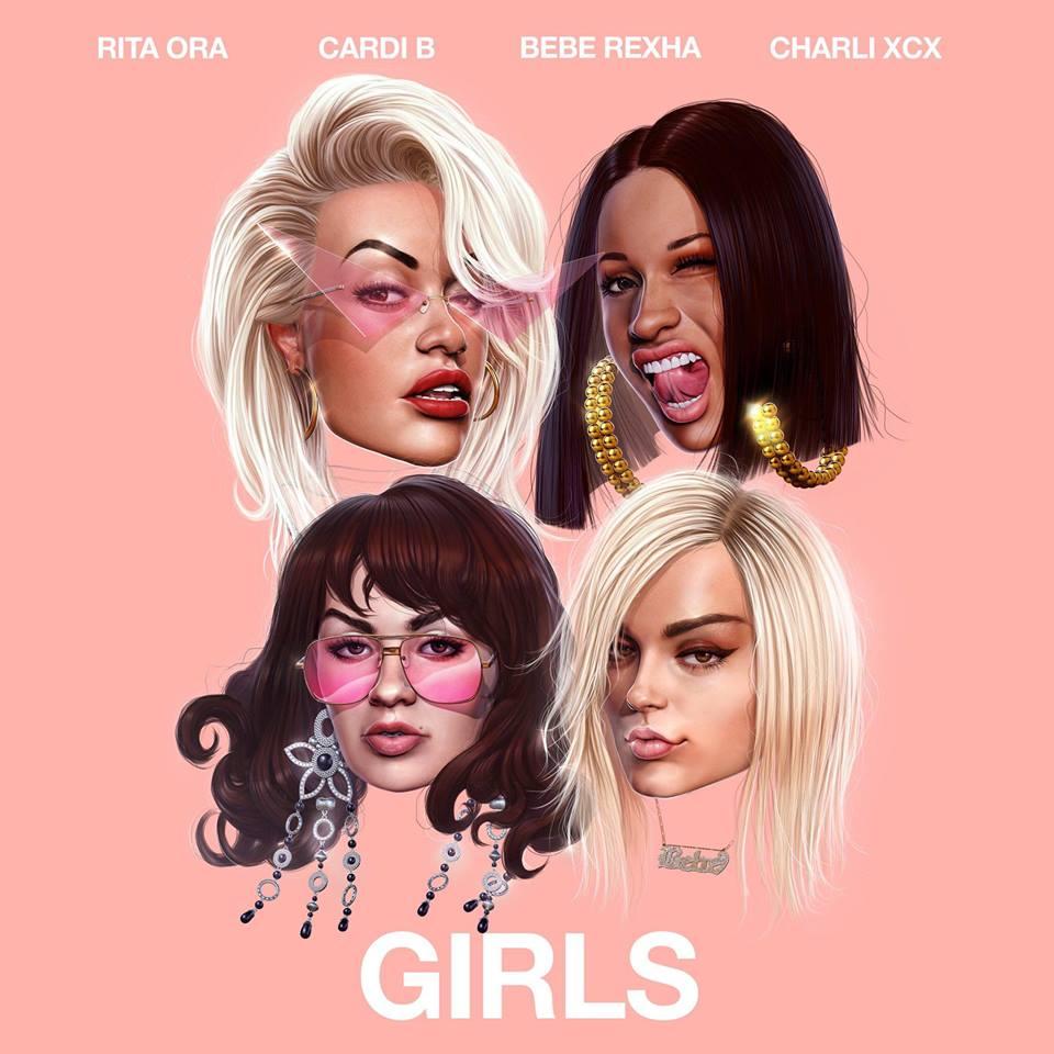 """Ecco """"Girls"""", l'inno per le donne di Rita Ora con Cardi B, Charli XCX e Bebe Rexha"""