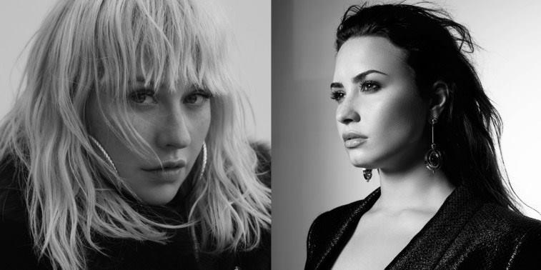 """Demi Lovato e Christina Aguilera nuovo singolo insieme: ecco """"Fall in Live"""" (AUDIO)"""