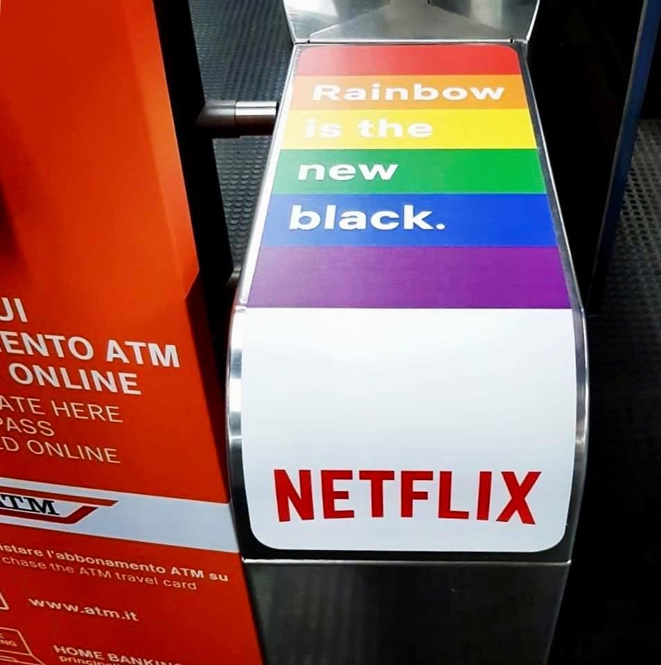 arcobaleno, rainbow is the new black