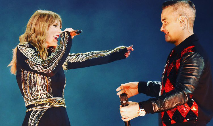 Taylor Swift e Robbie Williams