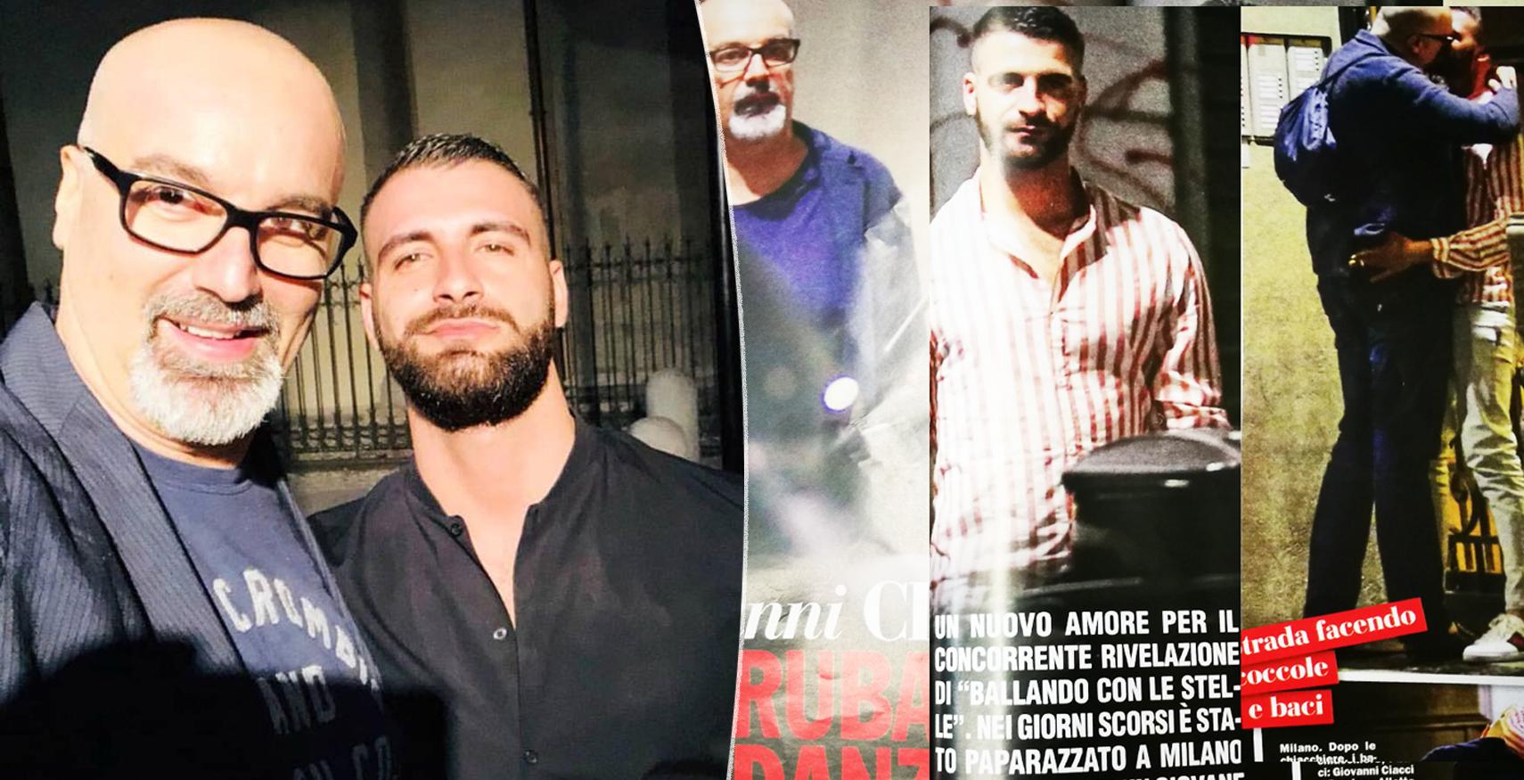 """Giovanni Ciacci """"ruba"""" il fidanzato a Stefano Gabbano e se lo bacia tutto"""