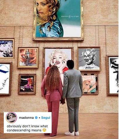 madonna, beyonce, jayz, museo
