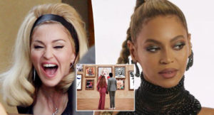 madonna, beyonce, museo, luvre