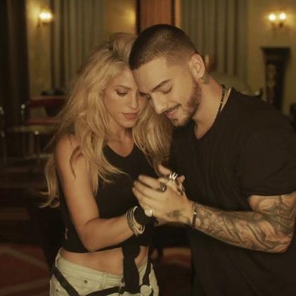 """""""Clandestino"""" è il nuovo singolo di Shakira e Maluma"""