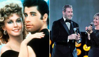 Grease: 40 anni dopo John Travolta e Olivia Newton-John ricantano la hit del 1978 (VIDEO)
