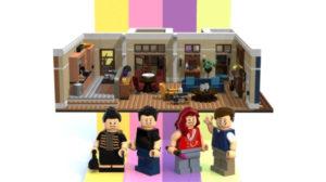 Il set Lego per costruire l'appartamento di Will & Grace