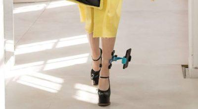 smartphone caviglia