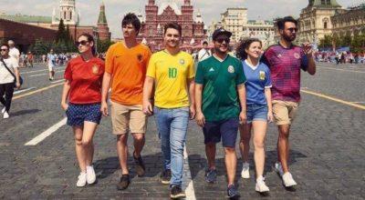 Russia 2018, in Piazza sventola la bandiera Lgbt: raggirato il divieto di propaganda gay