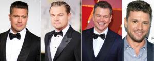 Leonardo DiCaprio, Brad Pitt, Matt Damon, Ryan Phillippe.