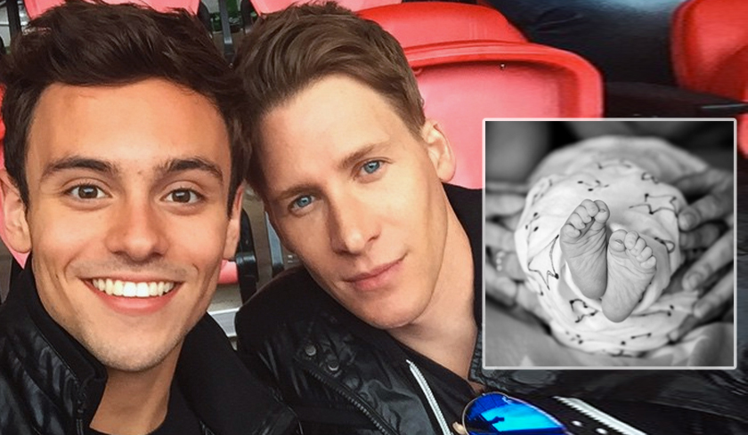 Tom Daley e il marito Dustin Lance Black