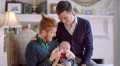 famiglia gay, papà,