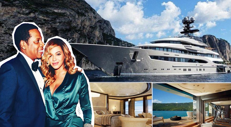 Beyoncè e Jay Z in vacenza in Italia: le foto dello yacht