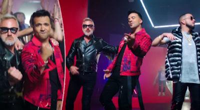 Gianluca Vacchi debutta in America con Luis Fonsi, il cantante di
