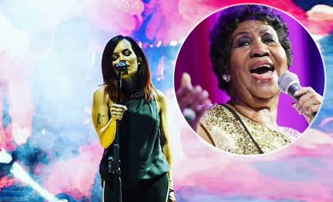 alexia cover, tributo aretha-franklin