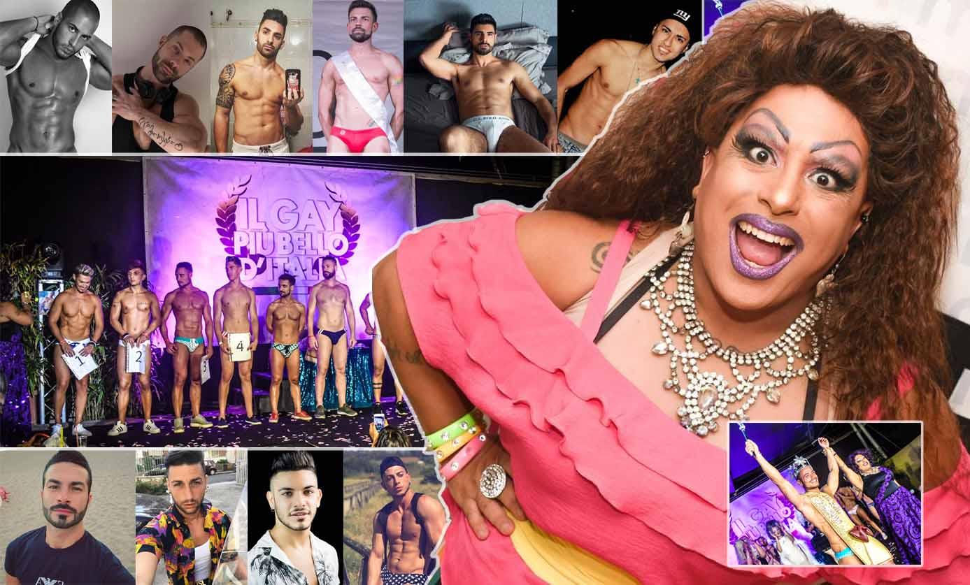 lawandagastrica drag queen il gay più bello d'italia 2018