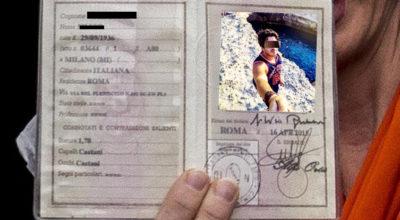 selfie carta identita