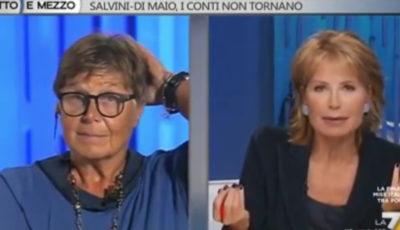 """""""Il gay Mario Mieli era attratto dall'erotismo dei bambini"""": la bomba di Silvana De Mari da Lilli Gruber (VIDEO)"""