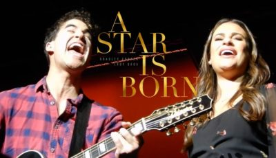 lea michele a star si born shadow lady gaga cover